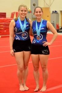 Leanne+Kelsey Medals